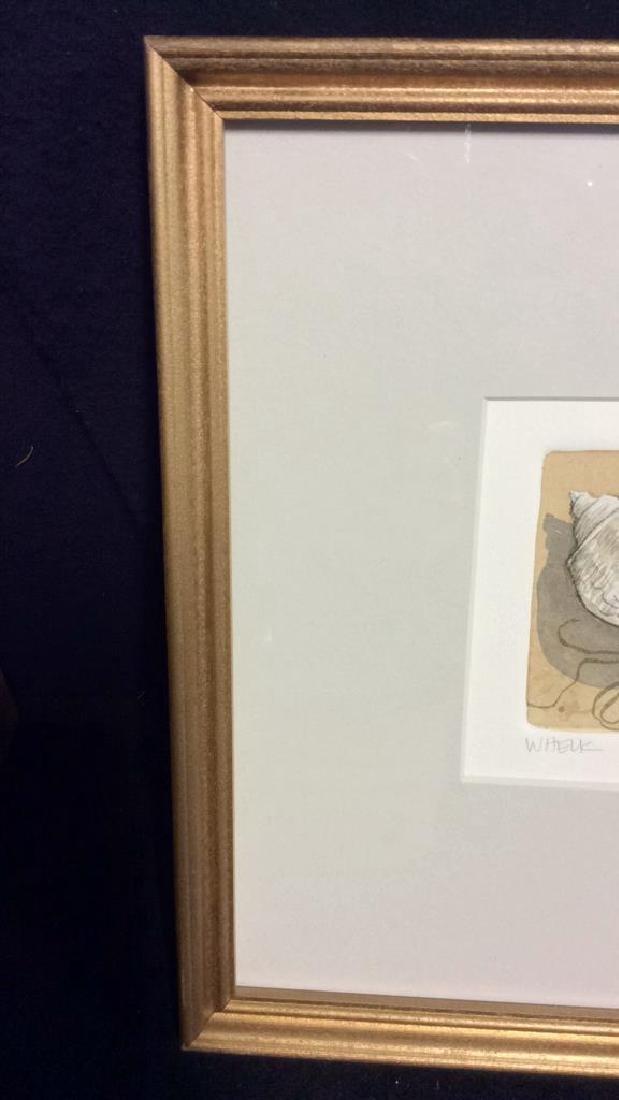 Signed Frame Limited Edition Artwork - 2