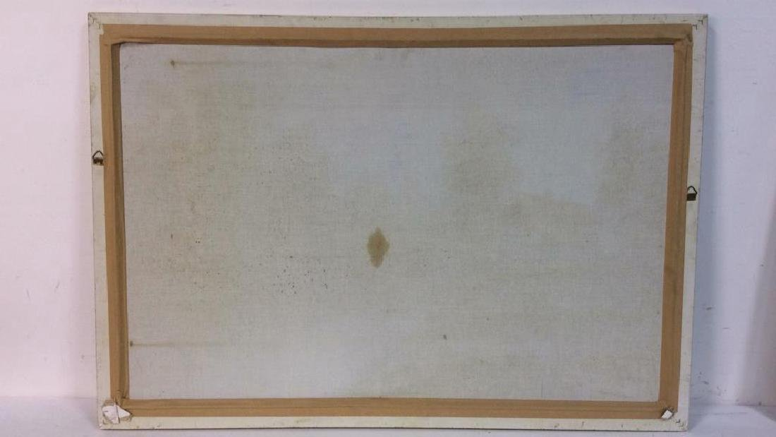 Framed Landscape Acrylic On Canvas - 10