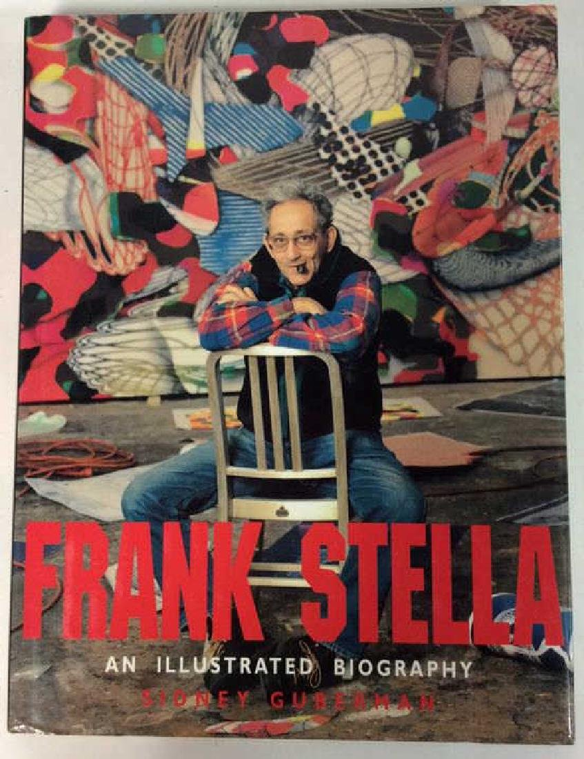 First American Edition Frank Stella Biography