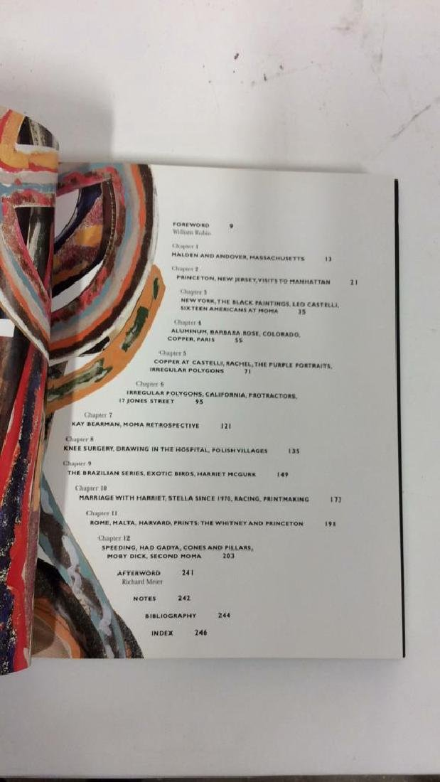 First American Edition Frank Stella Biography - 6