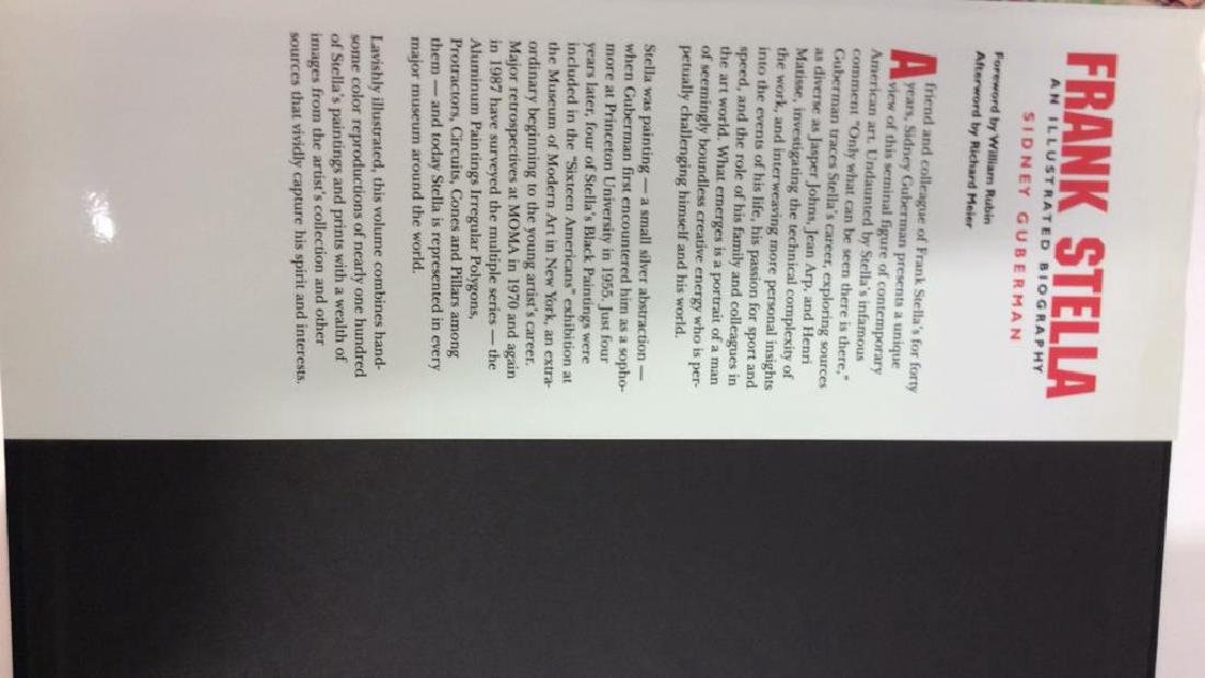 First American Edition Frank Stella Biography - 9