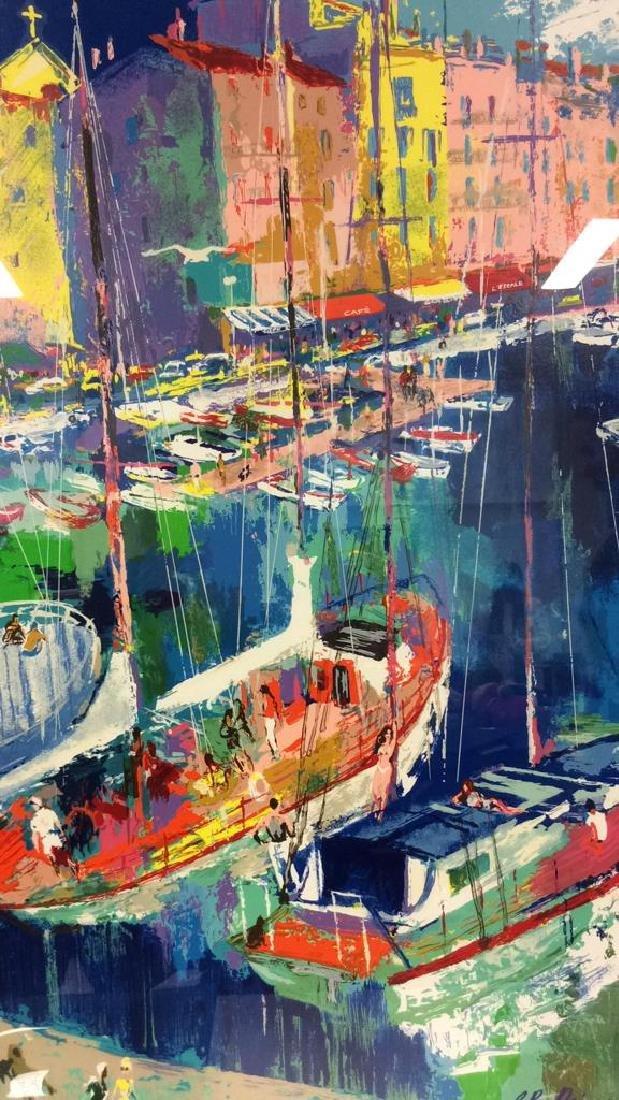 Leroy Neiman St. Tropez Framed Art Print
