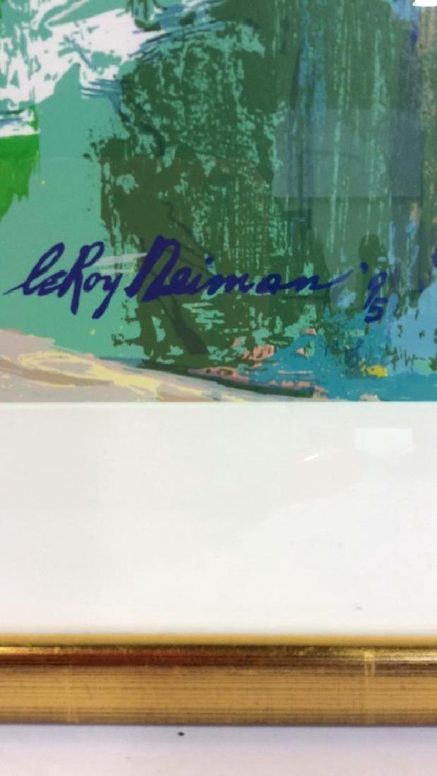 Leroy Neiman St. Tropez Framed Art Print - 3