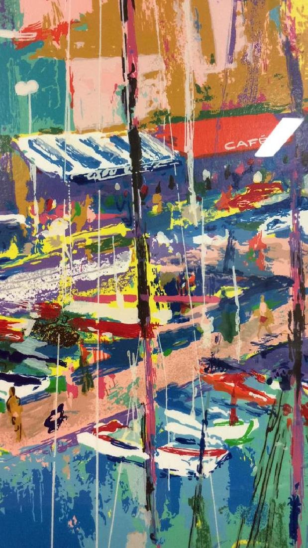 Leroy Neiman St. Tropez Framed Art Print - 8