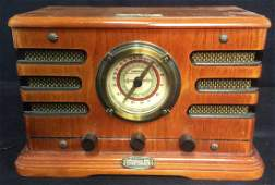 Vintage CROSLEY LIMITED EDITION Wooden Radio