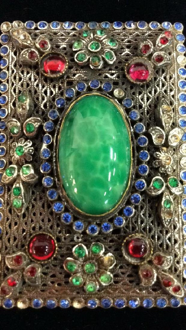 Vintage Brooch Pin Costume Estate Jewelry - 2