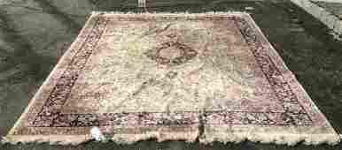 Silk Handmade Oriental Fringed Rug