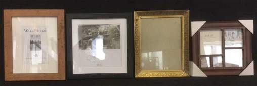 Lot 4 Assorted Picture Frames