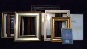 Lot 10 Assorted Picture Frames