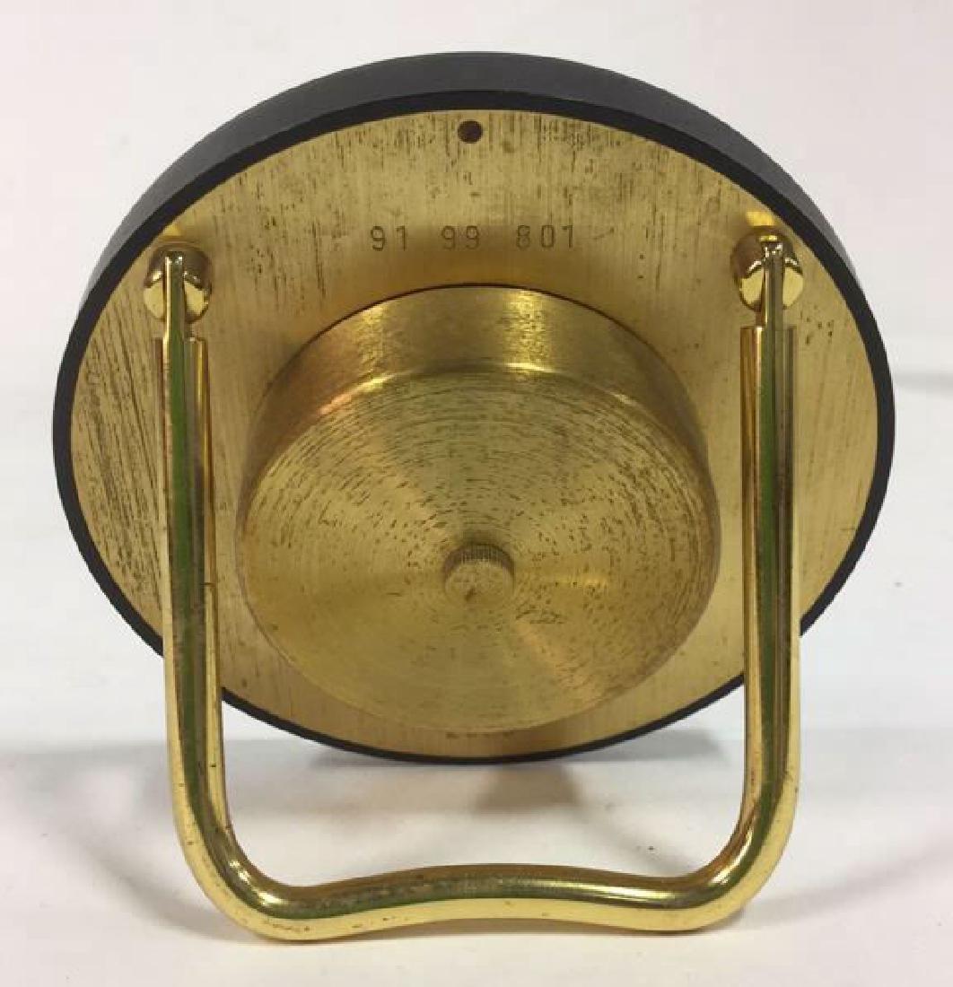 Vintage Movado Swiss Quartz Desk Clock - 3
