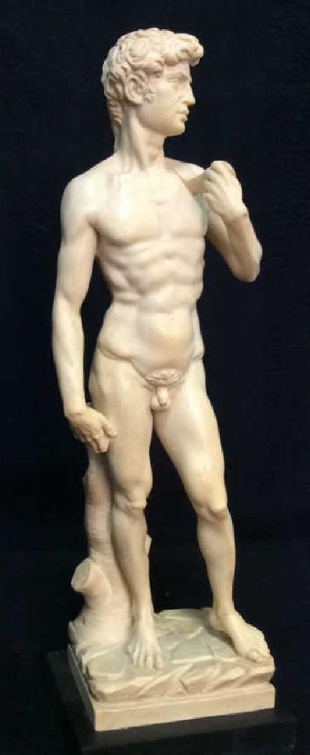 A. Santini Italian David Michelangelo Statuette