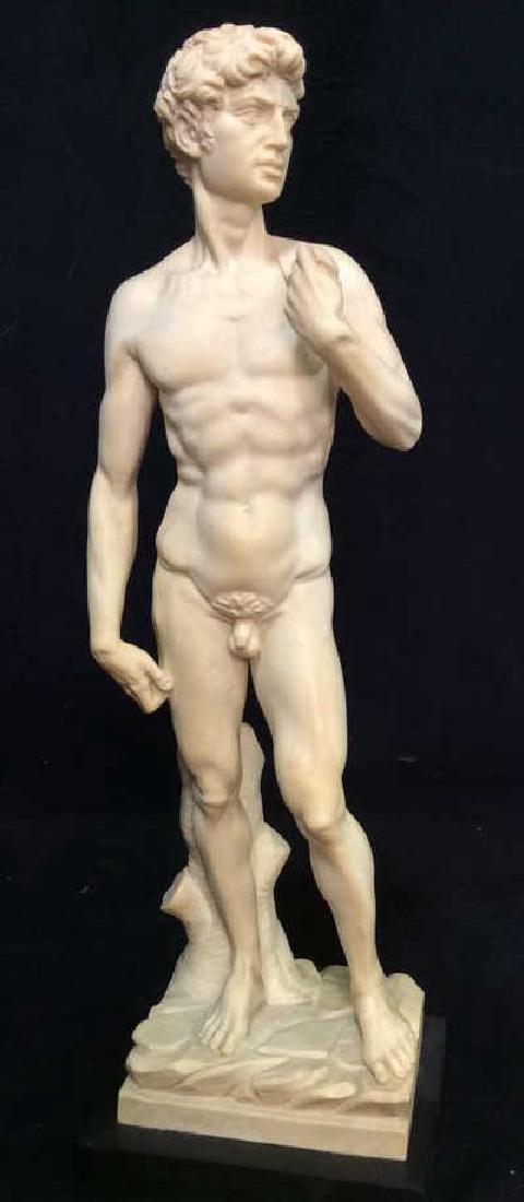 A. Santini Italian David Michelangelo Statuette - 2