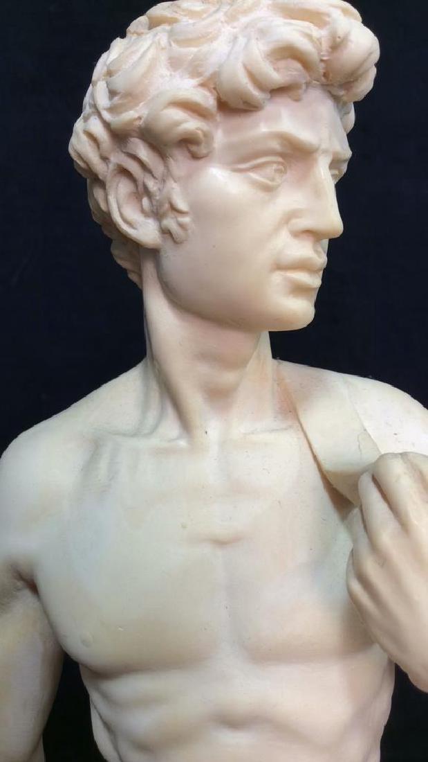 A. Santini Italian David Michelangelo Statuette - 3