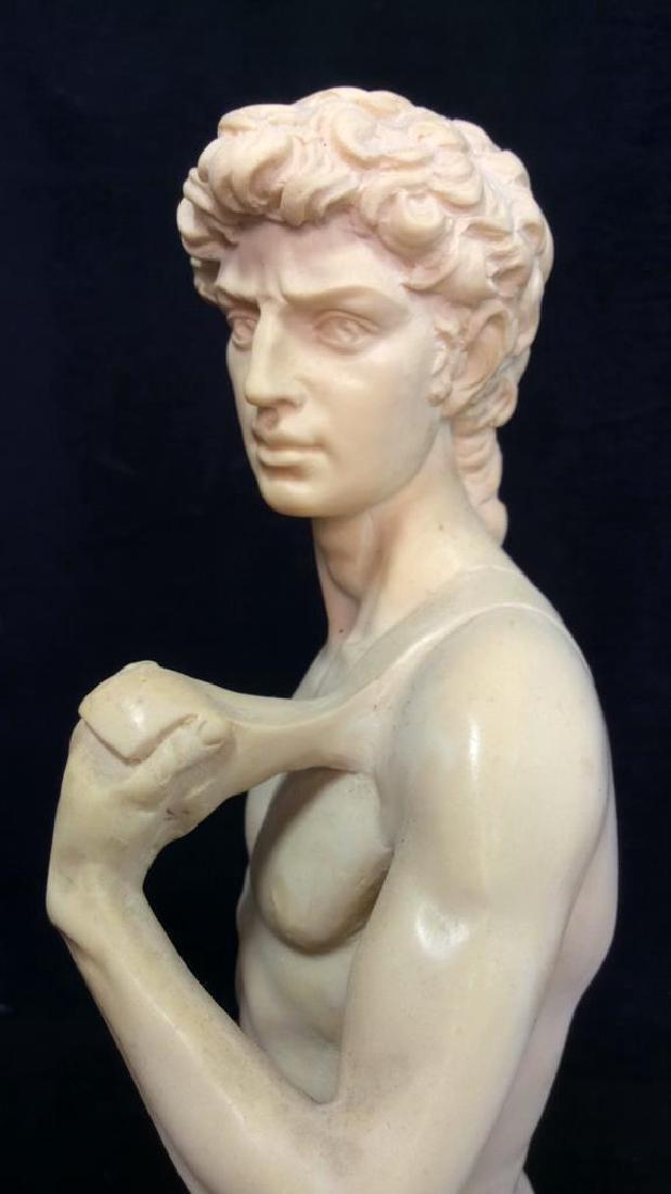 A. Santini Italian David Michelangelo Statuette - 4