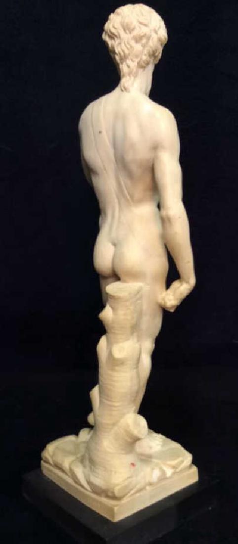 A. Santini Italian David Michelangelo Statuette - 6