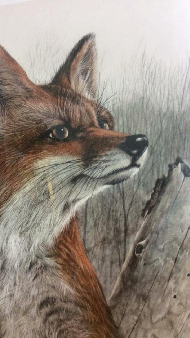 Signed Limited Edition Print Geoff Mowery Fox