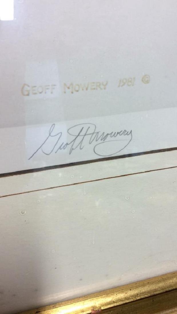 Signed Limited Edition Print Geoff Mowery Fox - 5