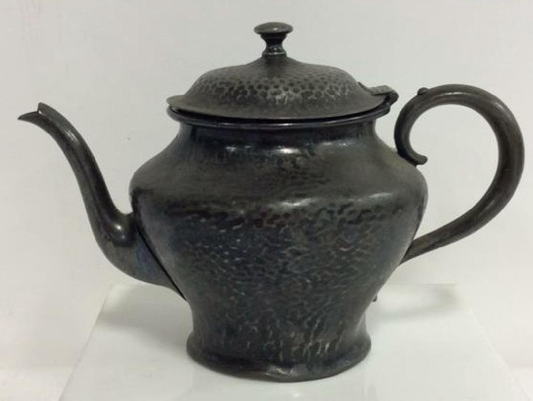 FORBES SPCO 735 Silver Toned Metal Teapot