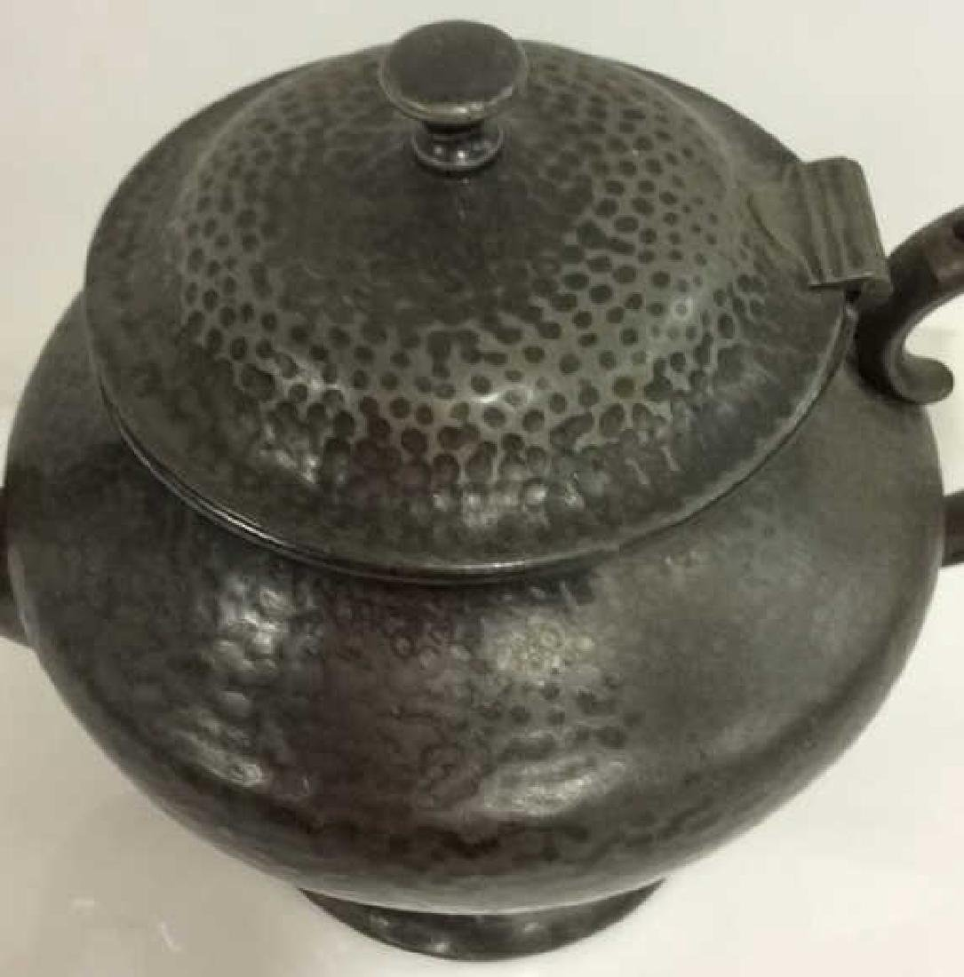 FORBES SPCO 735 Silver Toned Metal Teapot - 2