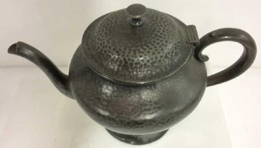 FORBES SPCO 735 Silver Toned Metal Teapot - 3