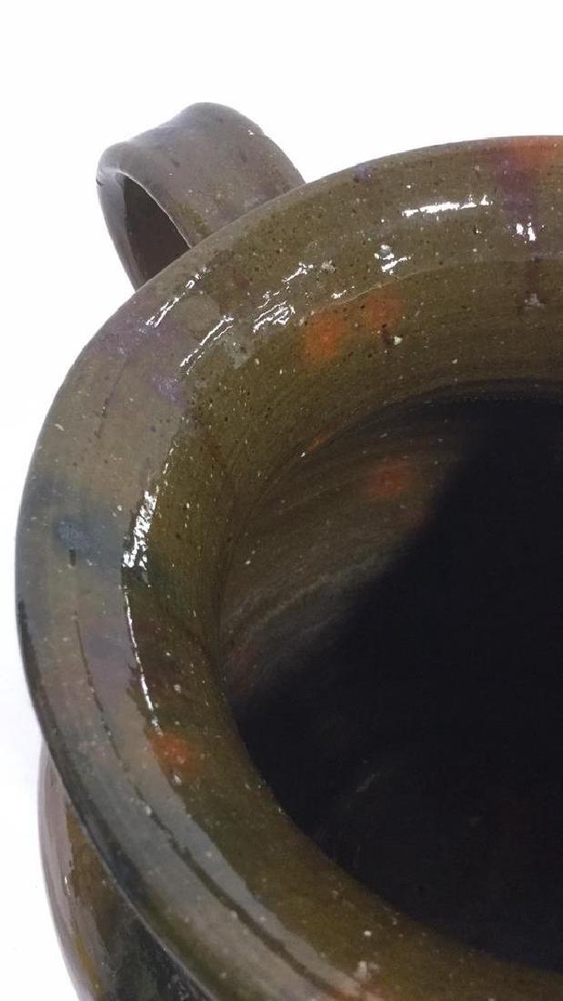 Handmade Studio Art Pottery Vase With Handle - 8