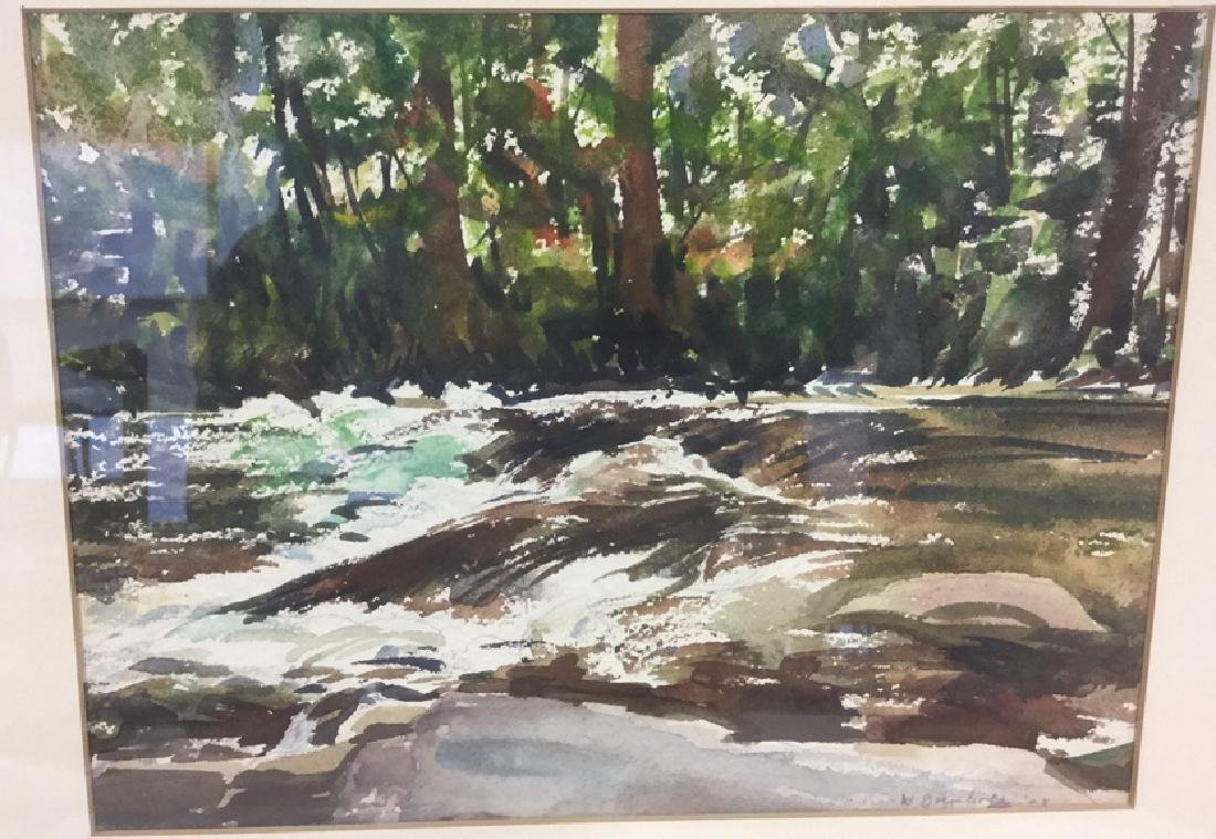 Watercolor And Pencil By Winifred Borgehold - 2