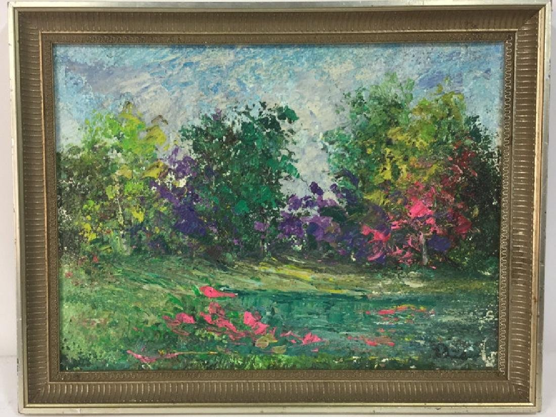 Impressionist Landscape Painting By Polat Knive