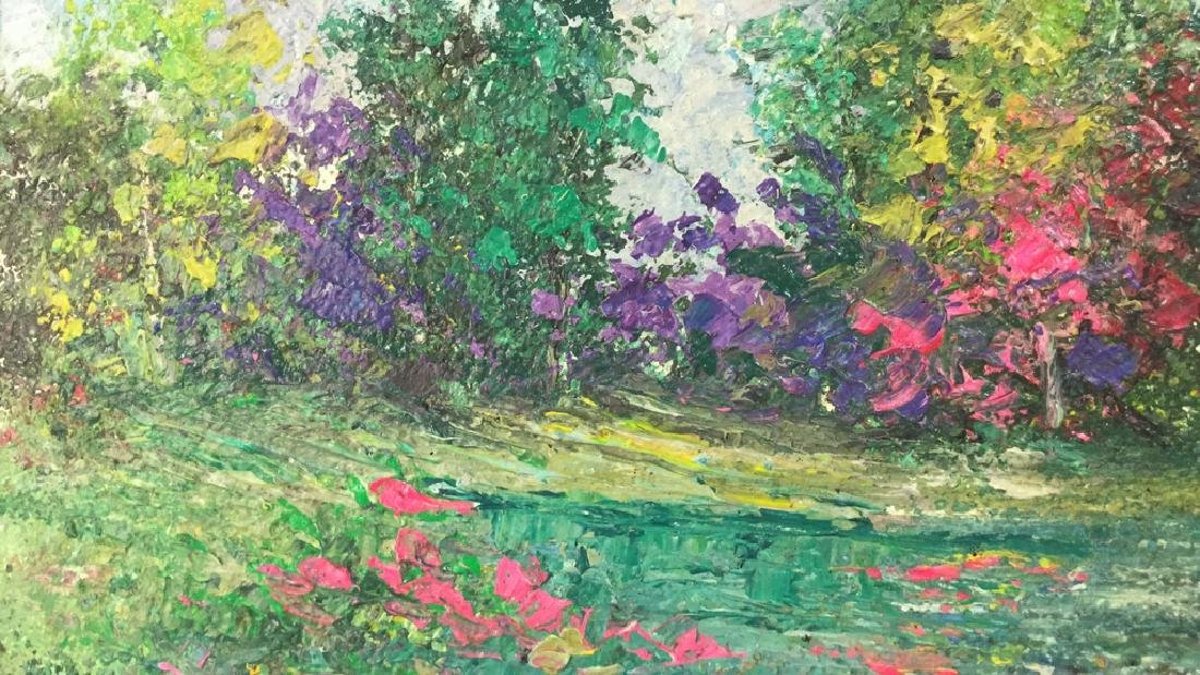Impressionist Landscape Painting By Polat Knive - 4