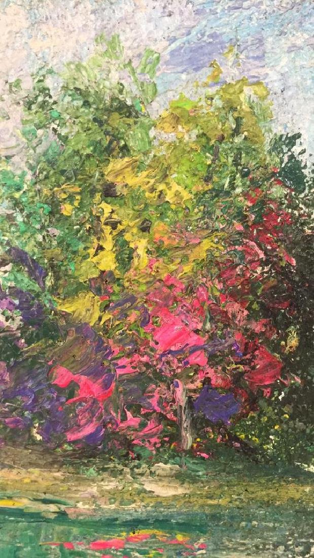 Impressionist Landscape Painting By Polat Knive - 5