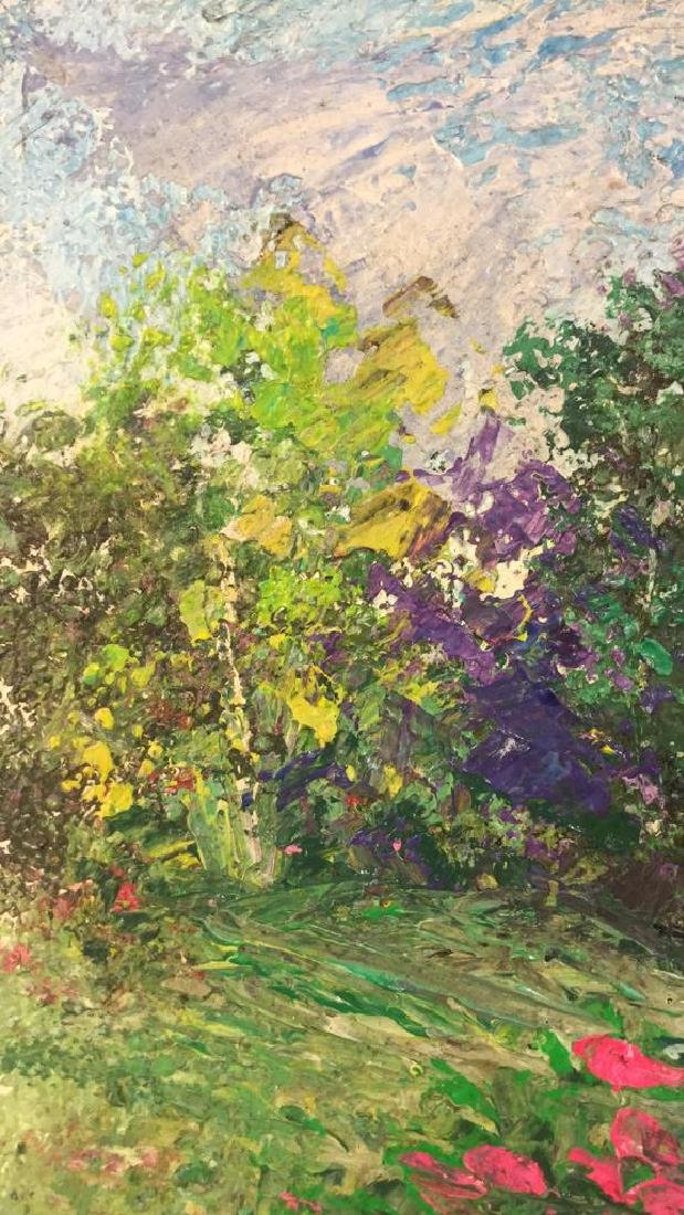 Impressionist Landscape Painting By Polat Knive - 8