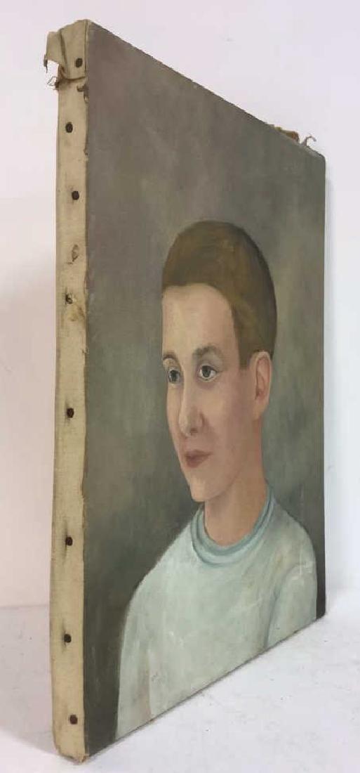 Vintage Portrait Painting Of A Boy - 5