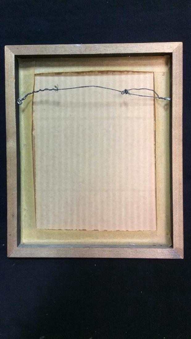 G. AINGE Professionally Framed Clown Artwork - 8