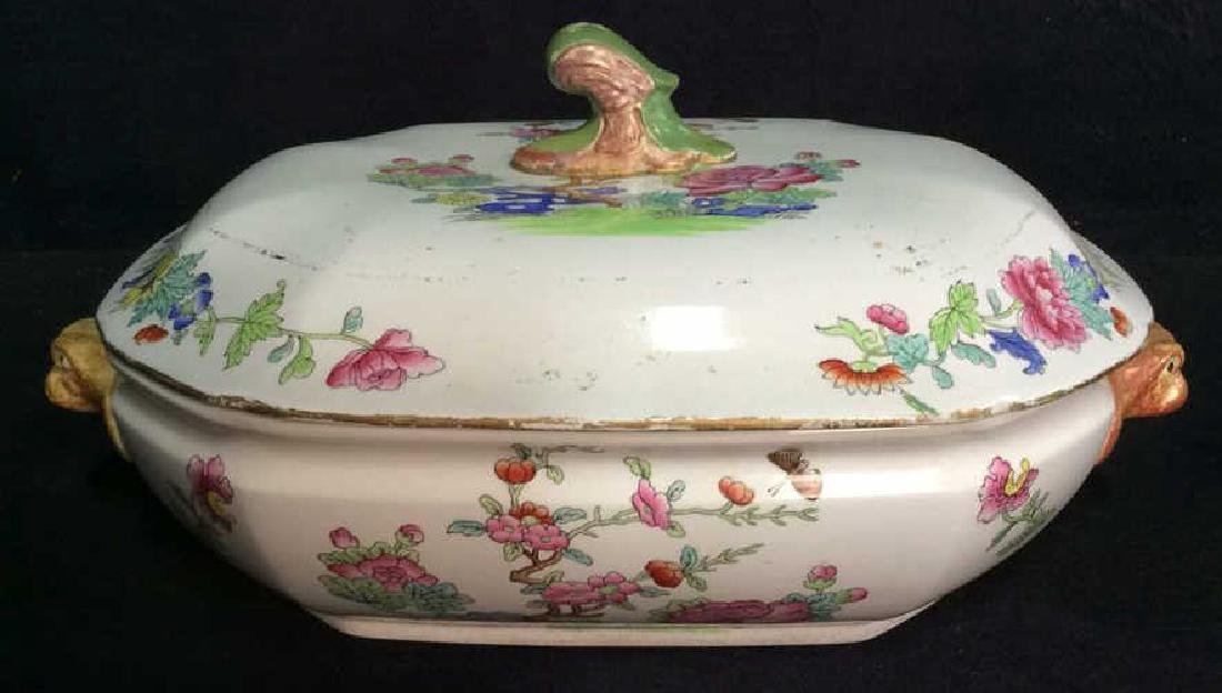 Pair COPELAND SPODE New Stone Porcelain Cookware - 2