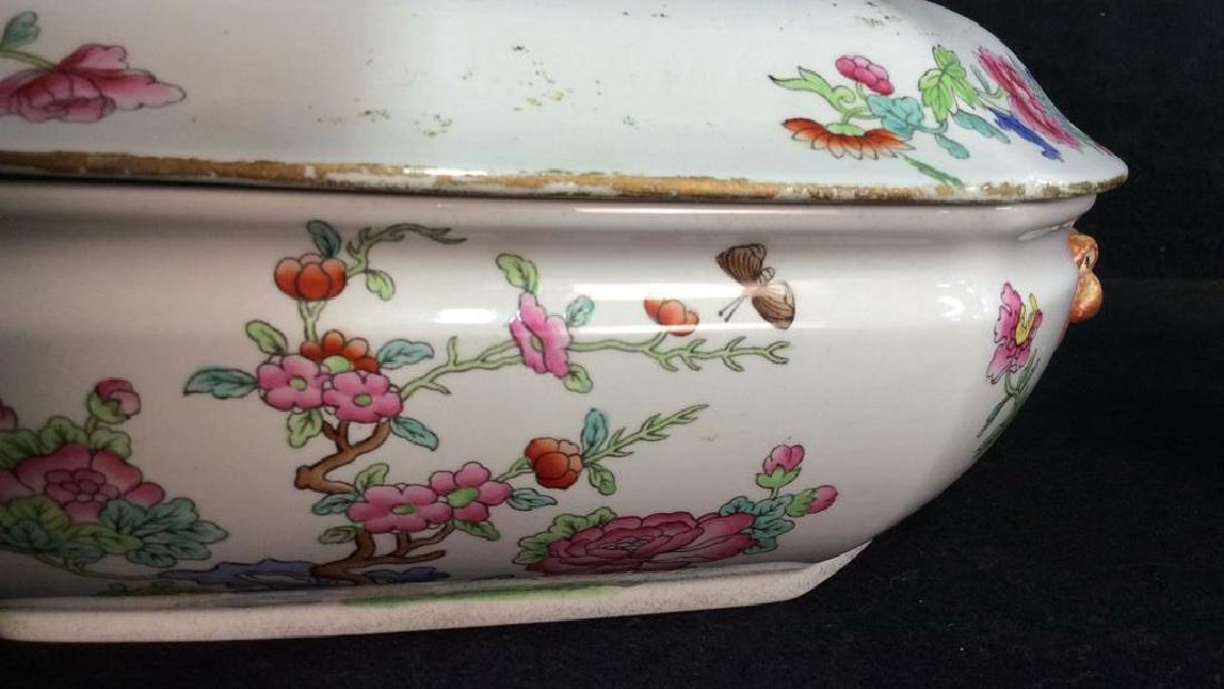 Pair COPELAND SPODE New Stone Porcelain Cookware - 3