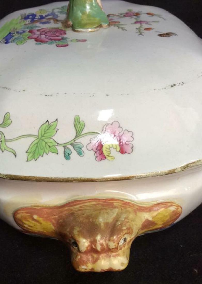 Pair COPELAND SPODE New Stone Porcelain Cookware - 5