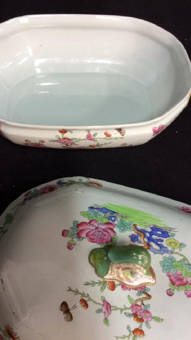 Pair COPELAND SPODE New Stone Porcelain Cookware - 7