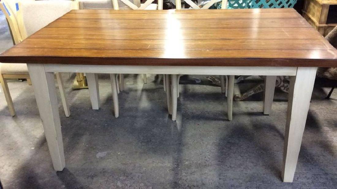 Pier 1 Painted Wooden Farm Table