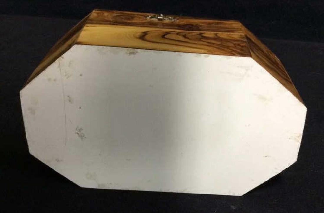 Wooden Judaica Etrog Box - 4