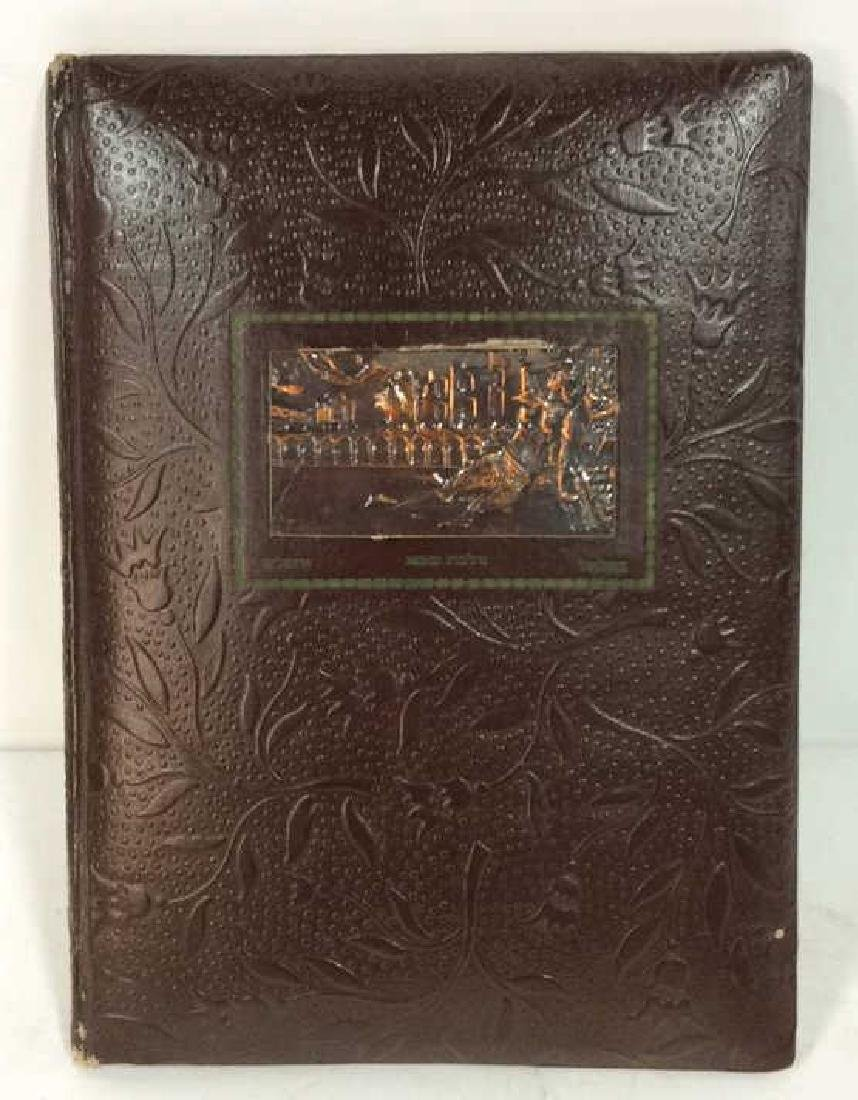 Tooled Faux Leather Bound Song of Solomon Book - 2