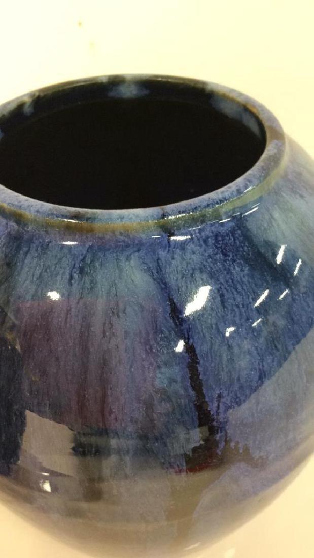 Pair Antique Victorian Arts & Crafts Vases c1900 - 5
