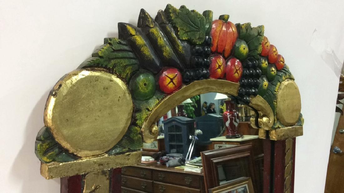 THE GOLDEN RABBIT Handmade Painted Mirror - 8