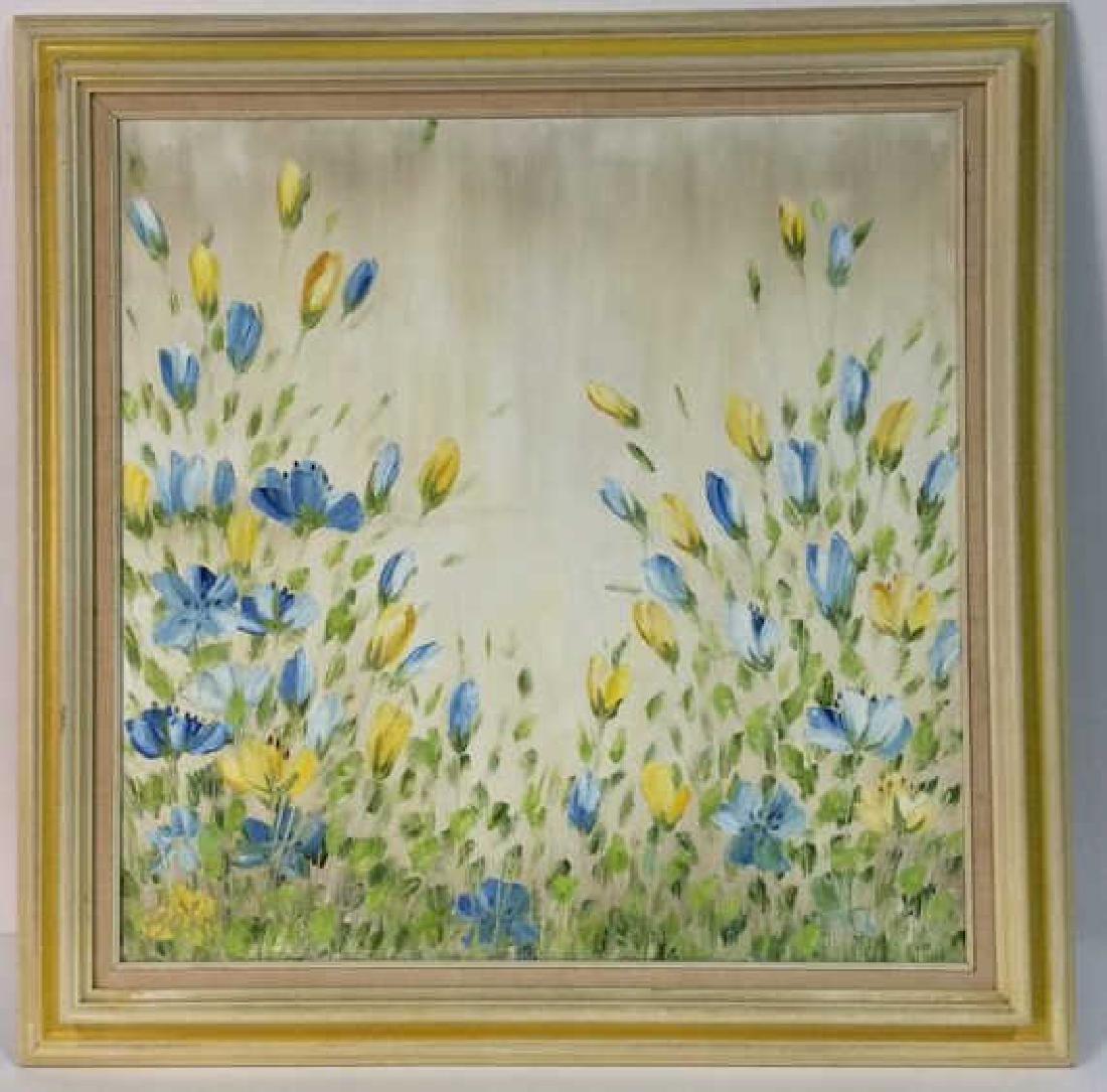 Signed John Bordiuk Oil Painting on Canvas
