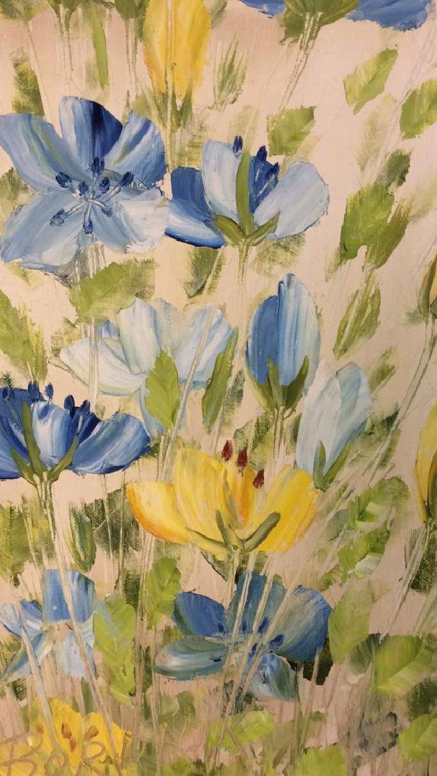 Signed John Bordiuk Oil Painting on Canvas - 3