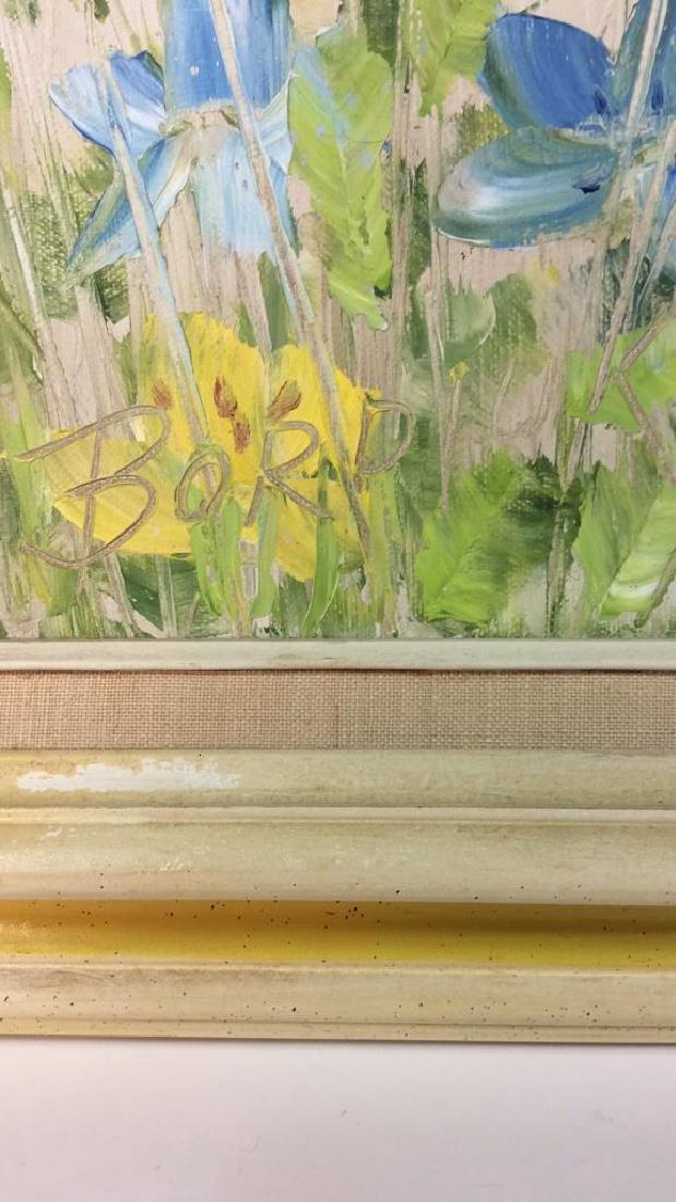 Signed John Bordiuk Oil Painting on Canvas - 5