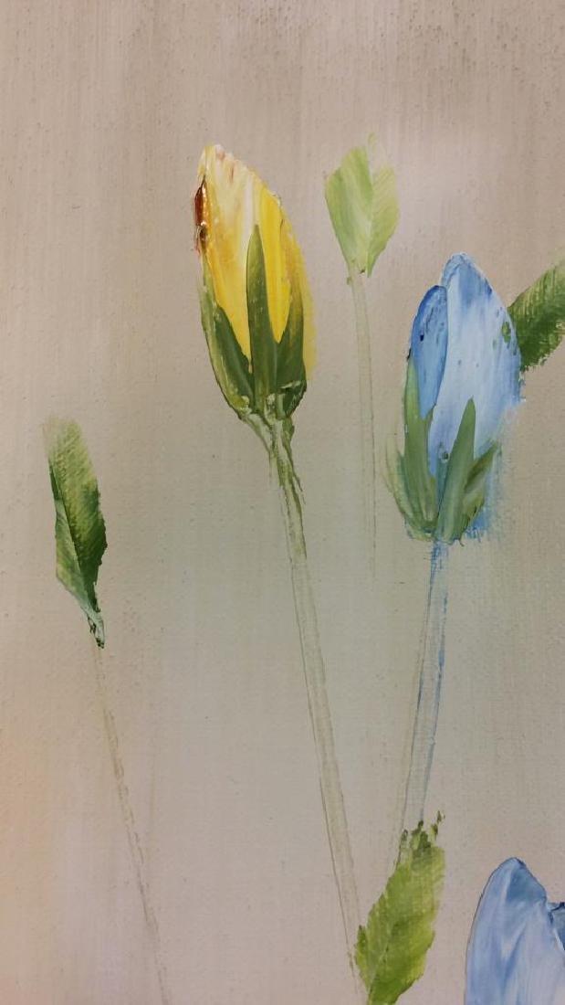 Signed John Bordiuk Oil Painting on Canvas - 7