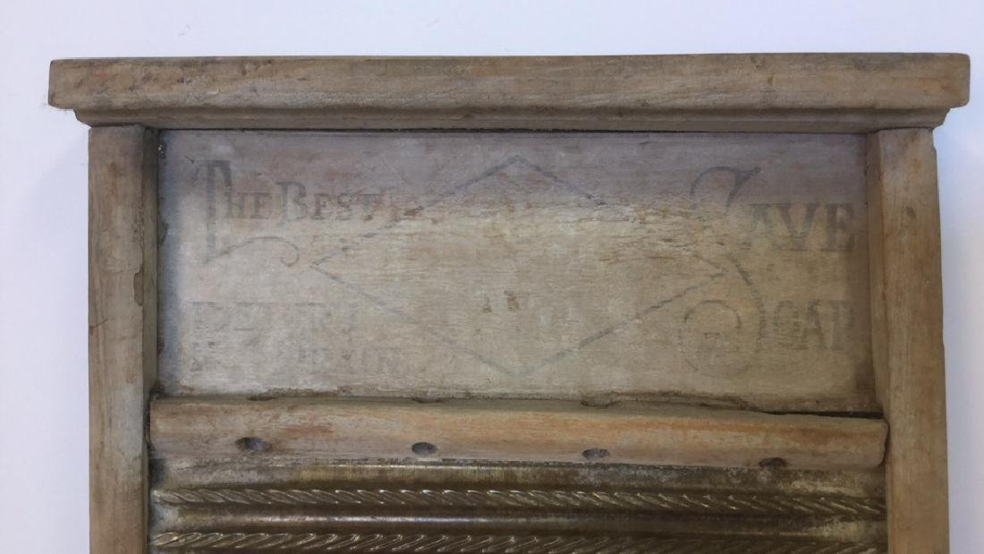 Antique Washboard - 2