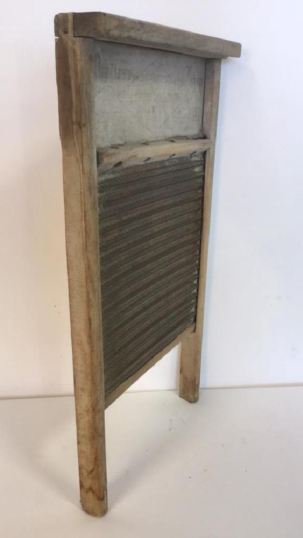 Antique Washboard - 9