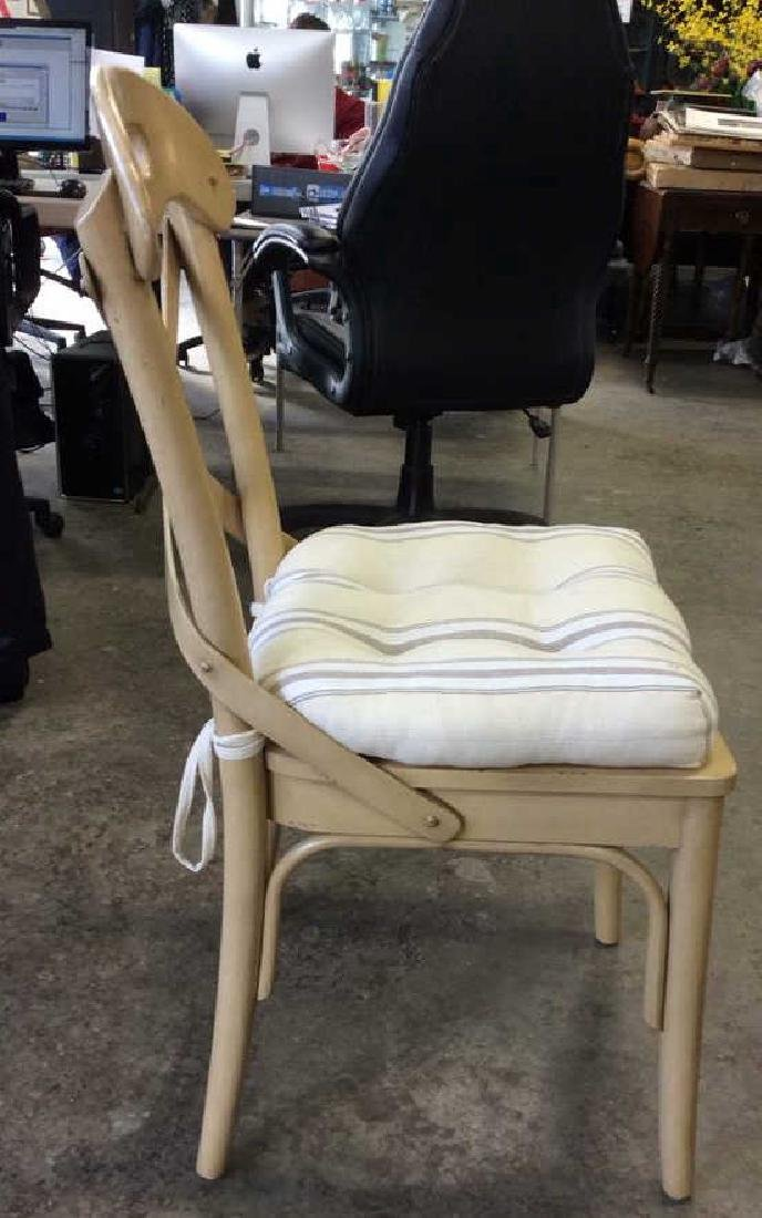 Lot 2 Wooden Cushioned Side Chairs - 5