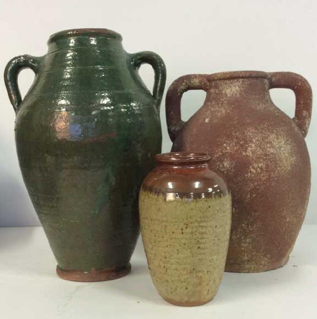 Lot 3 Assorted Ceramic Pots
