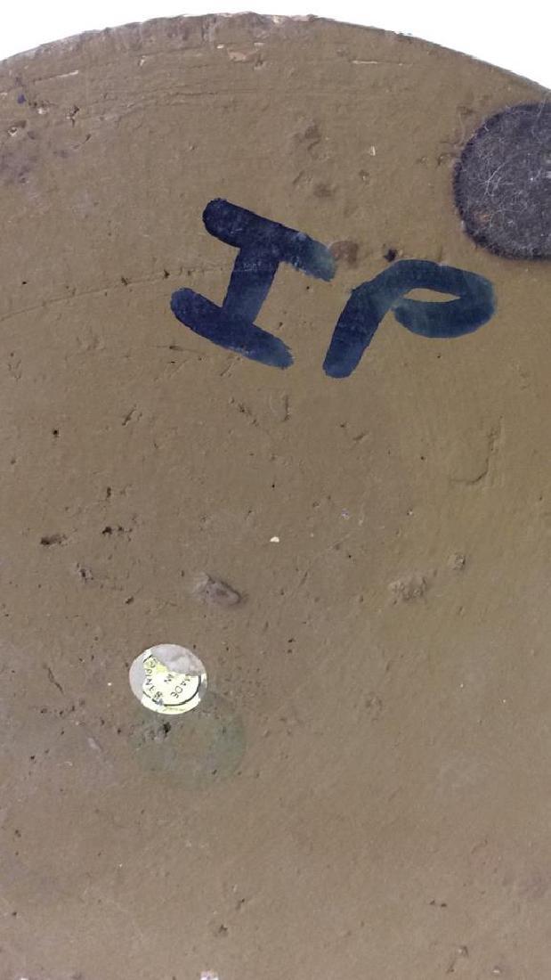 Roman Numeral Detailed Ceramic Pot - 8